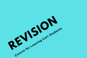 Leaving Cert Honours Maths Revision Course in Various Topics